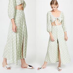 Madie Midi Skirt with Polka Dots by Capulet